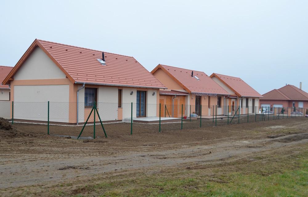 Kis alapterületű, új építésű házak Szombathelyen